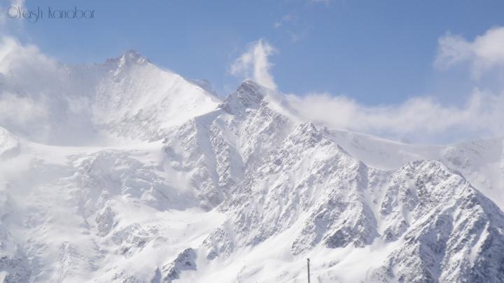 Great memories, skiing in Saas-Fee.