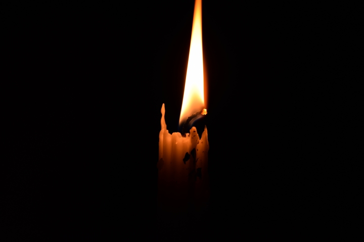 Power outages are so common back home, the darkness around this candle gives me vivid memories of the darkness.