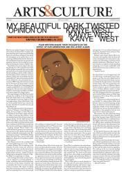 Varsity Newspaper Article Design