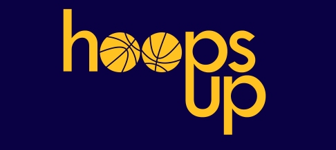 hoops up logo
