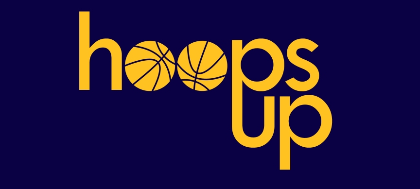 hoops up logo